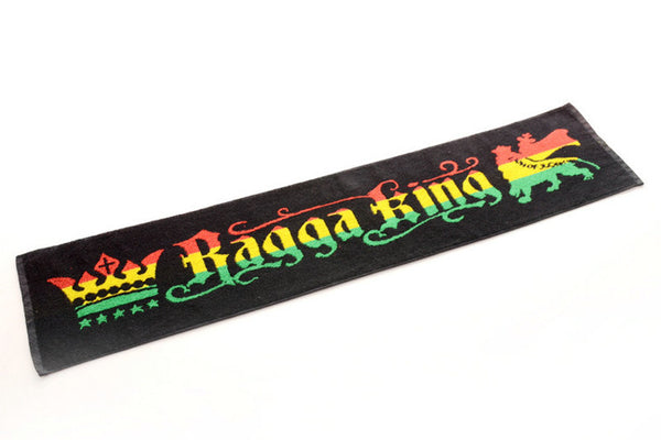 Ragga King Rasta Jamaica Raggae Fitness Gym Yoga Jogging Towel