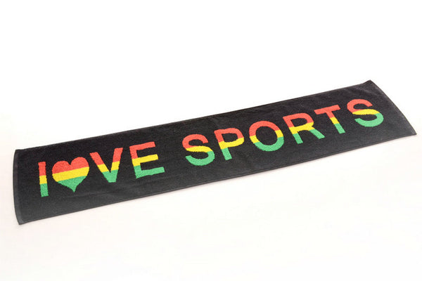 Fitness Gym Yoga Jogging Sports Rasta Jamaica Ragga Towel