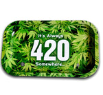 18 X 14 Cm 420 Weed Cigarette Rolling Tray