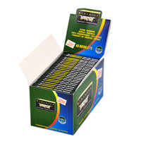 Silver 78 mm Transparent Cellulose Cigarette Rolling Paper