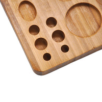 Wood All in One Stash Board Tray