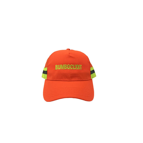 CLXXT - Reflective Trucker Hat (Orange)