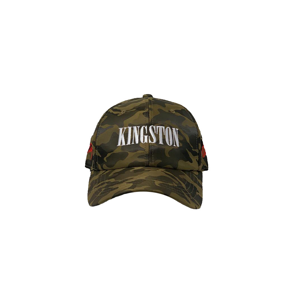 Kingston City (Olive Satin Camo Cap) – RepJA 2ad987b7083