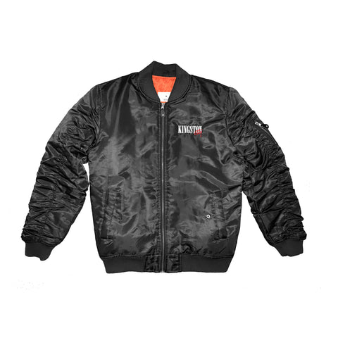 Kingston City (Black Bomber Jacket)