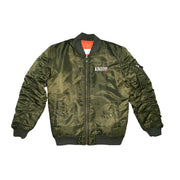 Kingston City (Olive Bomber Jacket)