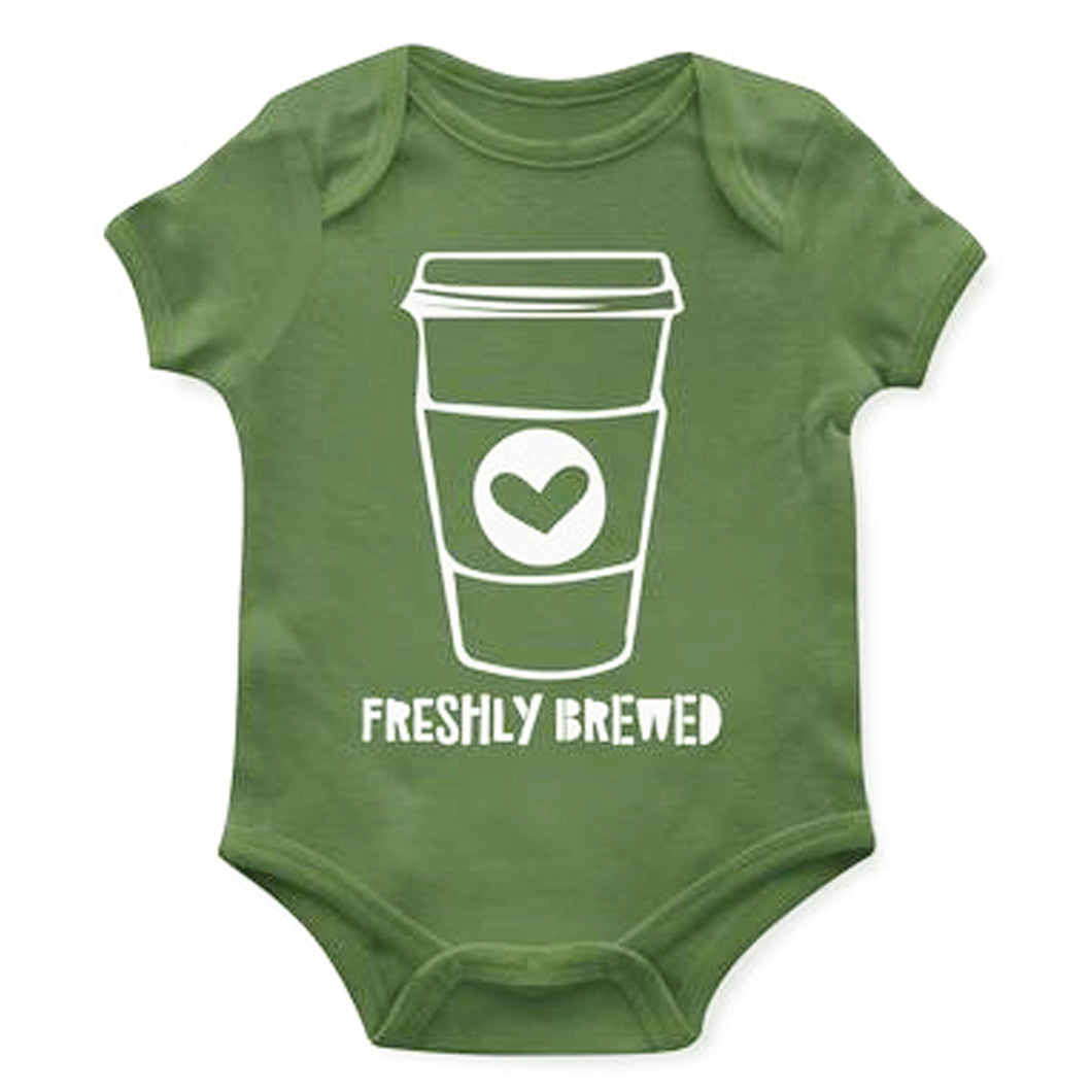 Freshly Brewed Baby Onesie