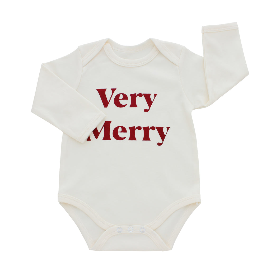 Very Merry- Holiday Baby Onesie