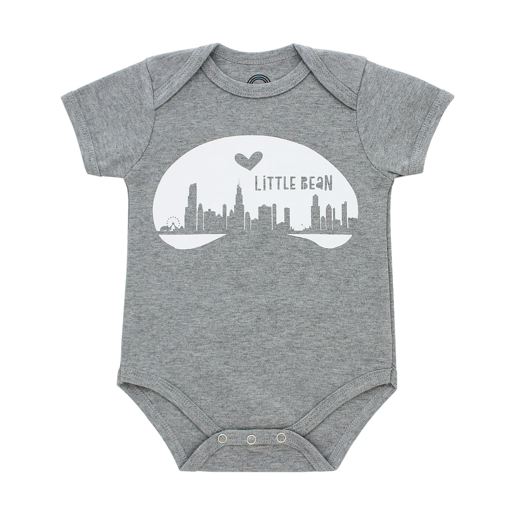 Chicago Bean Baby Onesie
