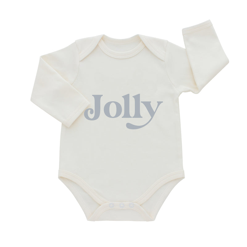 PREORDER Jolly Christmas Long Sleeve Holiday Onesie