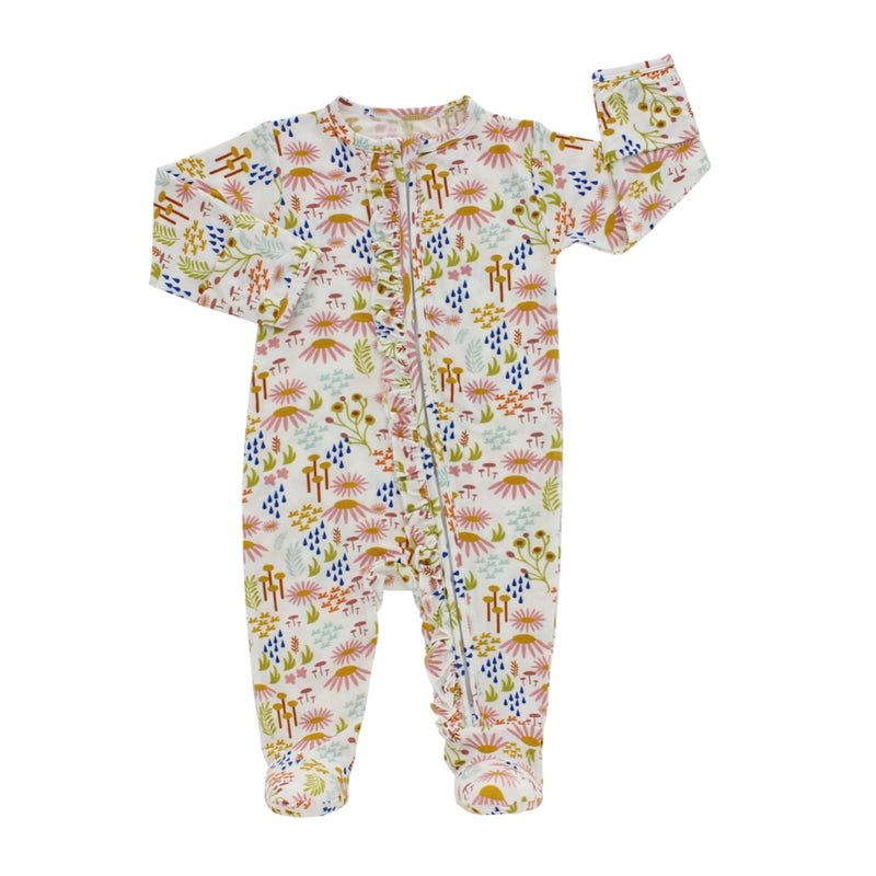 PREORDER Wildflower Footed Romper Pajama