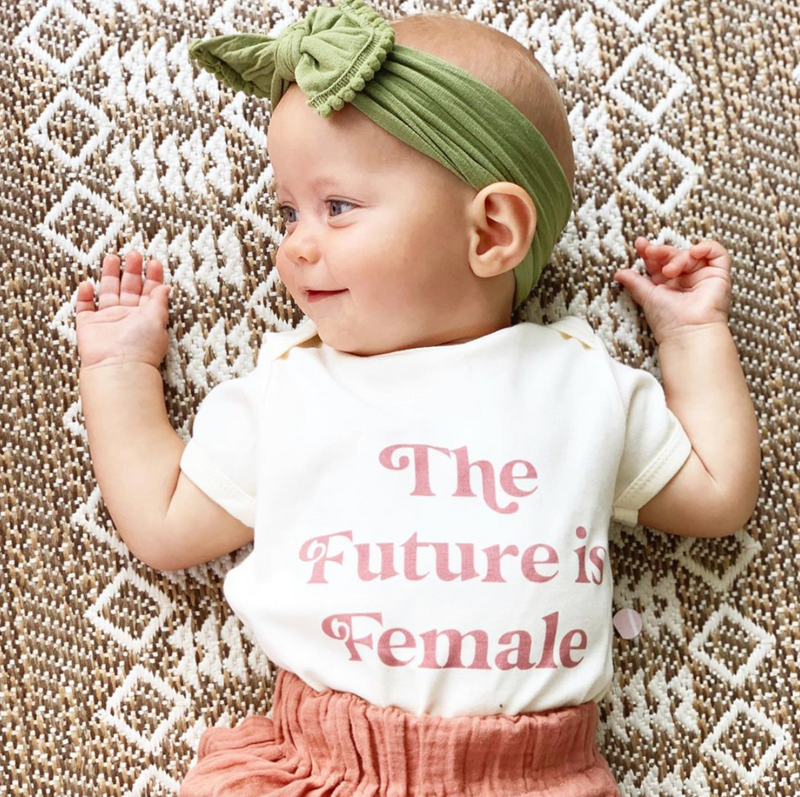 The Future is Female Baby Onesie