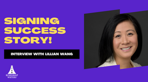 Interview with writer Lillian Wang- 163rd Writer Signed