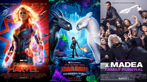 Weekend Box Office Top Ten - 3/10/19