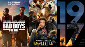 Weekend Box Office Top Ten - 1/19/20