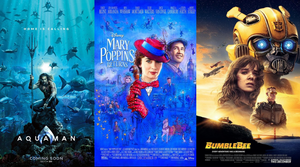 Weekend Box Office Top Ten - 12/30/18