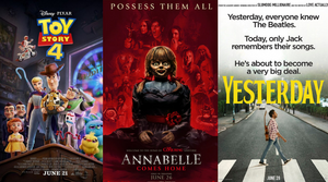 Weekend Box Office Top Ten 6/30/19