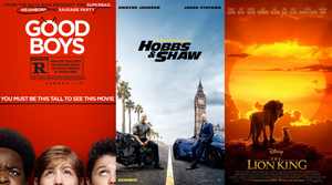 Weekend Box Office Top Ten - 8/18/19