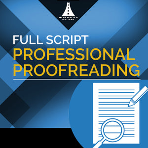 Professional Script Proofreading - Custom Quote