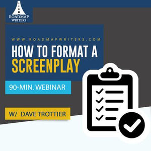 How to Format a Screenplay w/ Dr. Format: Dave Trottier