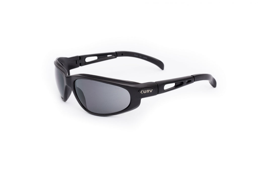 01-01 Smoke Lens Matte Frame – Motorcycle Sunglasses