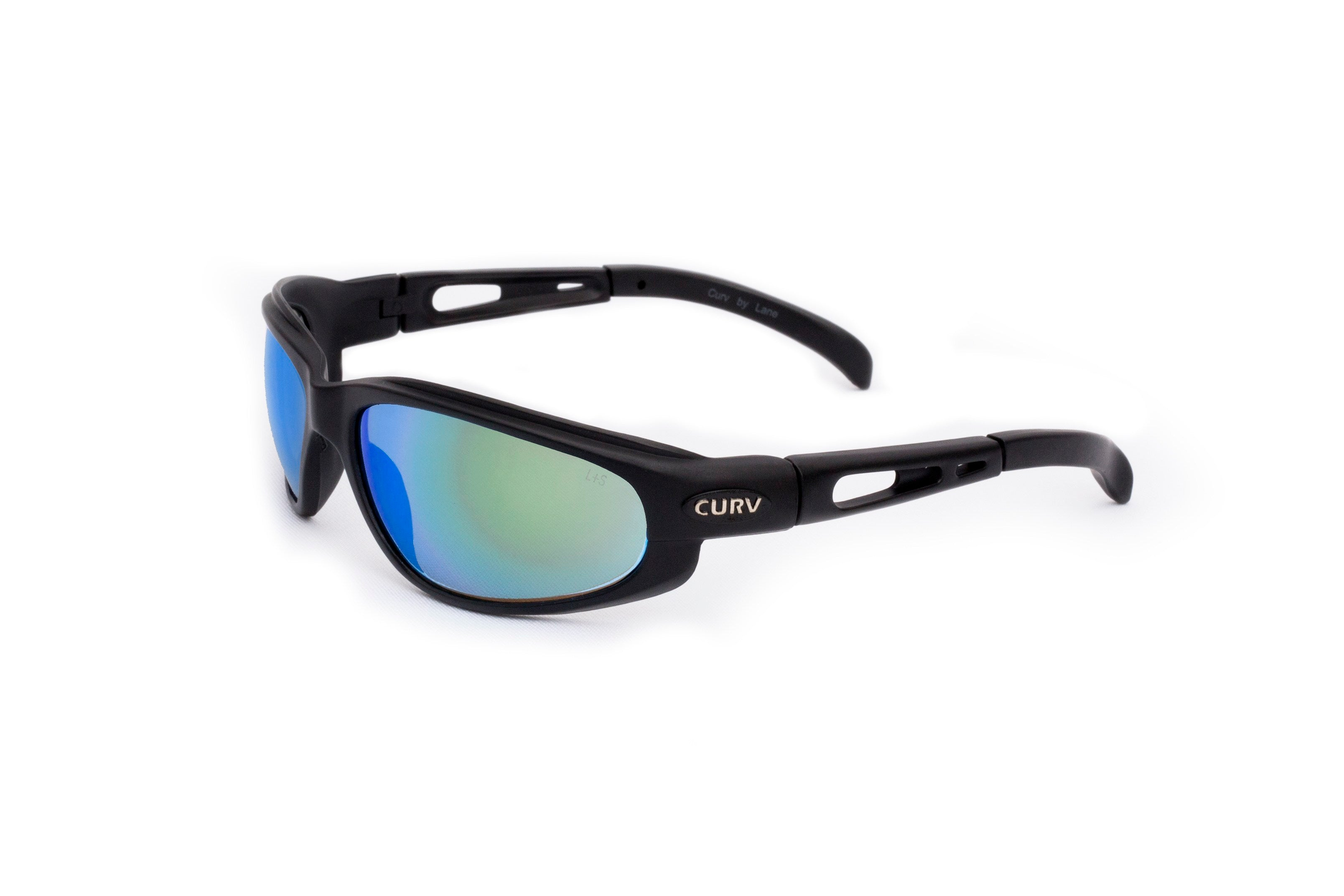 01-12 Jet Blue Lens Black Matte Frame – Motorcycle Sunglasses