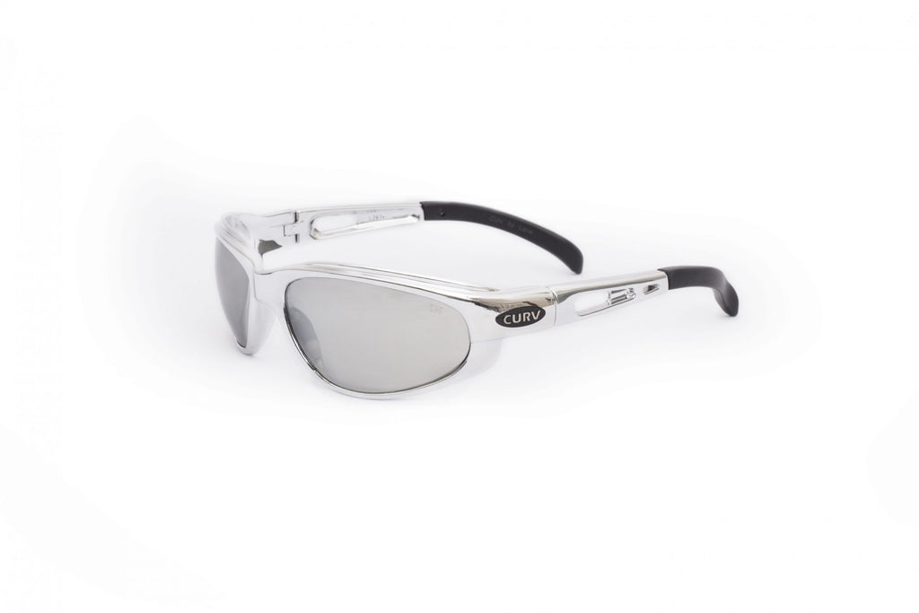 01-22 Chrome Frame w/ Mirrored Lens – Motorcycle Sunglasses