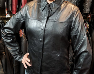 "Ladies ""Laci"" Leather Riding Shirt"