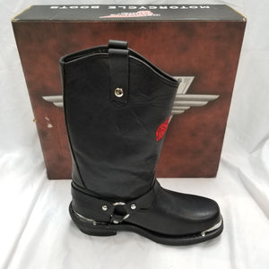 Women's Red Wing Shoes Black Leather Boots 1670