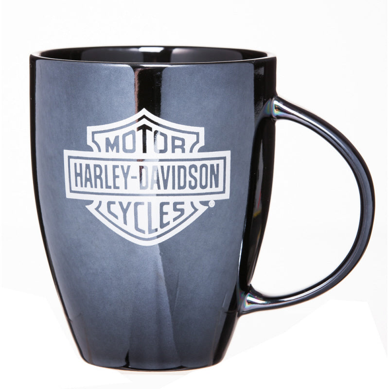 Harley Davidson Mug - Black Bar and Shield Luster
