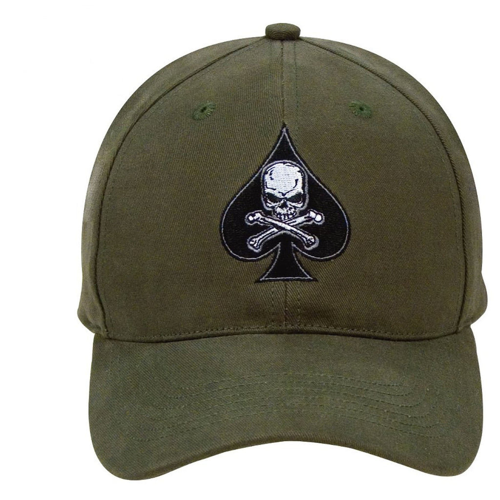 Black Ink Death Spade Low Profile Insignia Cap