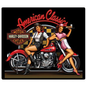 H-D® American Classics Babes Embossed Tin Wall Sign