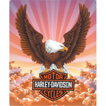 H-D® Eagle w/ Clouds Embossed Tin Wall Sign