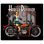 H-D® Classic Pin Up Babe Embossed Magnet