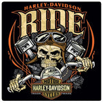 H-D® Ride Bone Tin Wall Sign