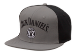 Jack Daniel's - Old No. 7 Brand Gray and Black Snapback