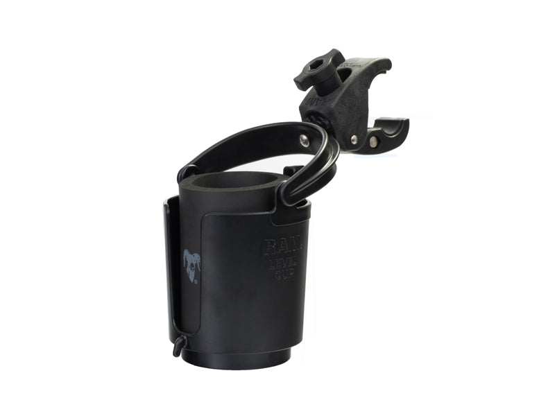 RAM Tough-Claw™ Mount Self Leveling  Cup Holder Ram-B-132-400U