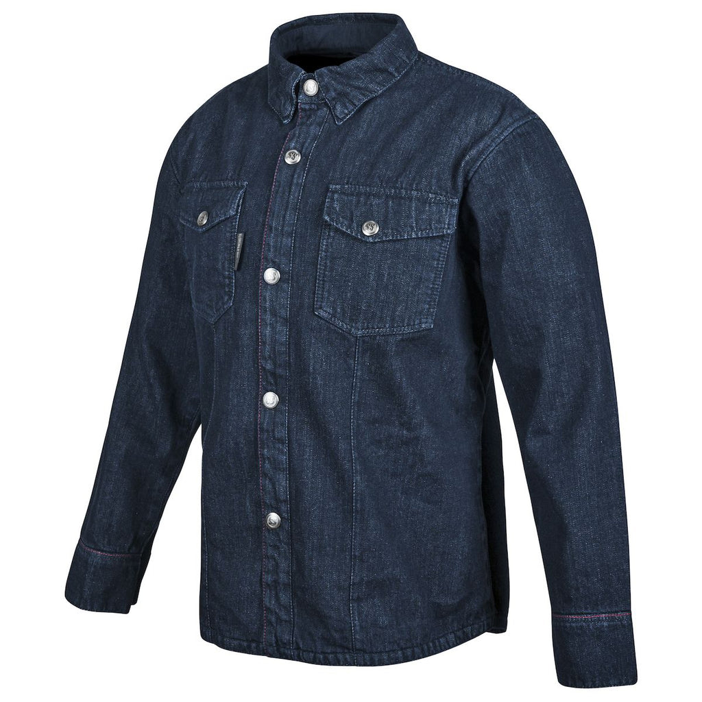 "Speed and Strength ""Gridlock"" Kevlar Denim Moto Shirt - XL - Blue Denim"