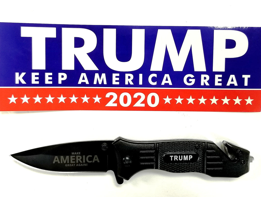 "Trump 8"" Collectible Spring Assisted Knife"
