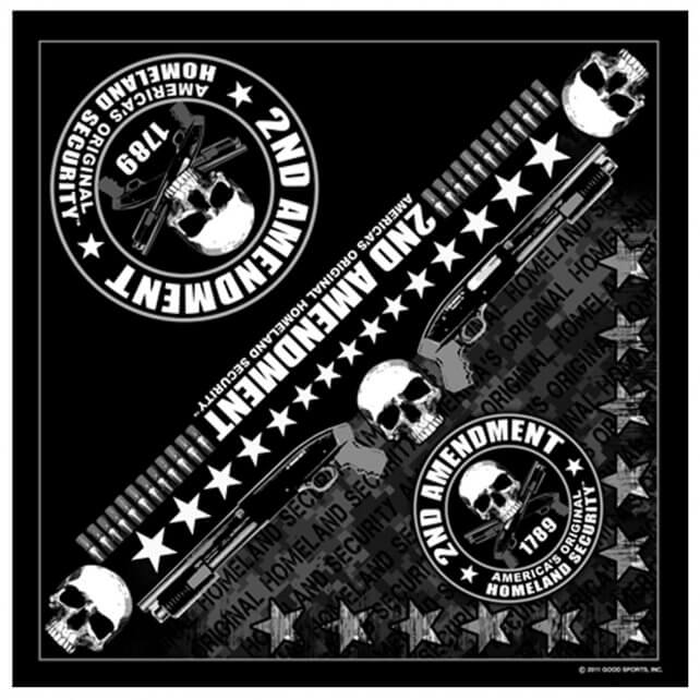 2nd Amendment - America's Original Homeland Security - Bandana