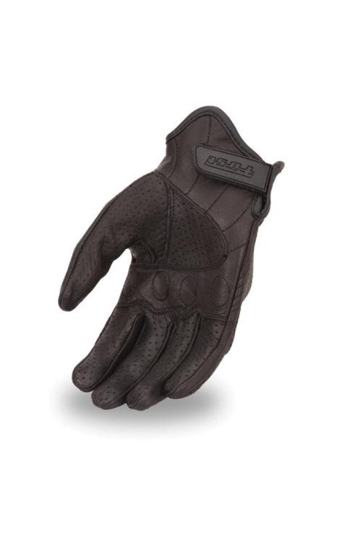 Men's Perforated Leather Glove