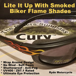 Curv Z Flame Motorcycle Sunglasses 02-07