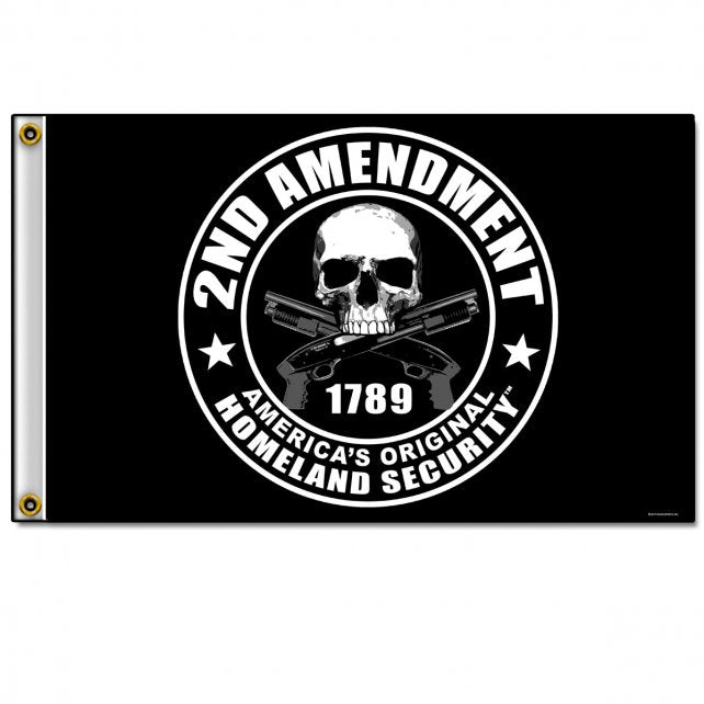 2nd Amendment - America's Original Homeland Security - Flag