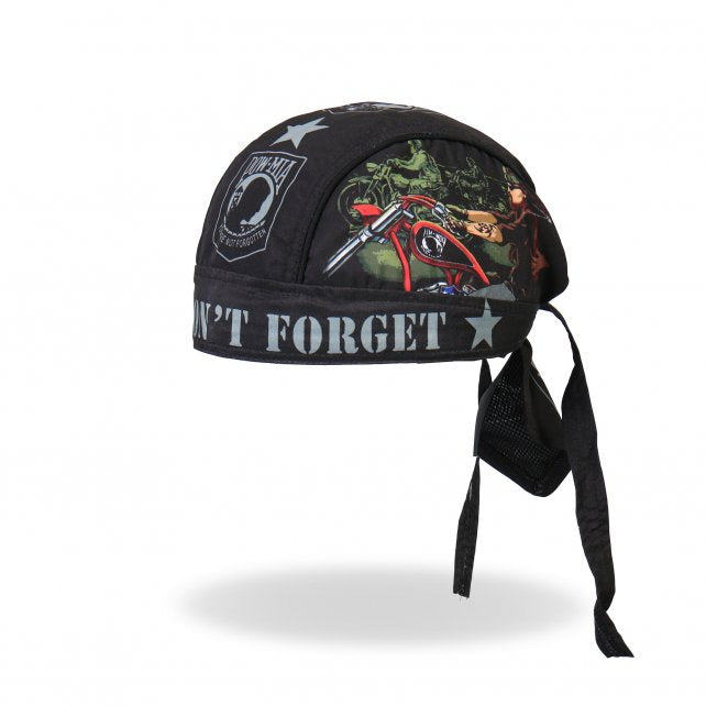 Commemorative Veteran POW*MIA DuRag