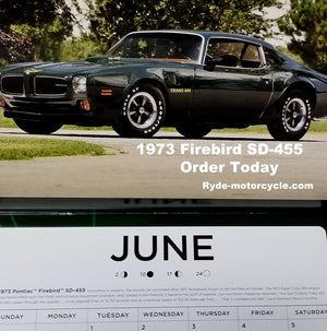 "2021 American Muscle Car 12"" x 12"" Wall Calendar"