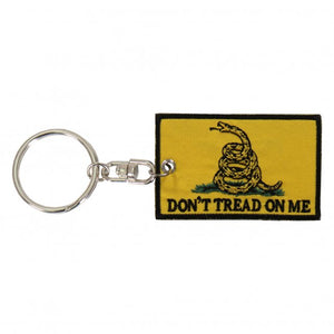 Don't Tread on Me Patch Key Chain