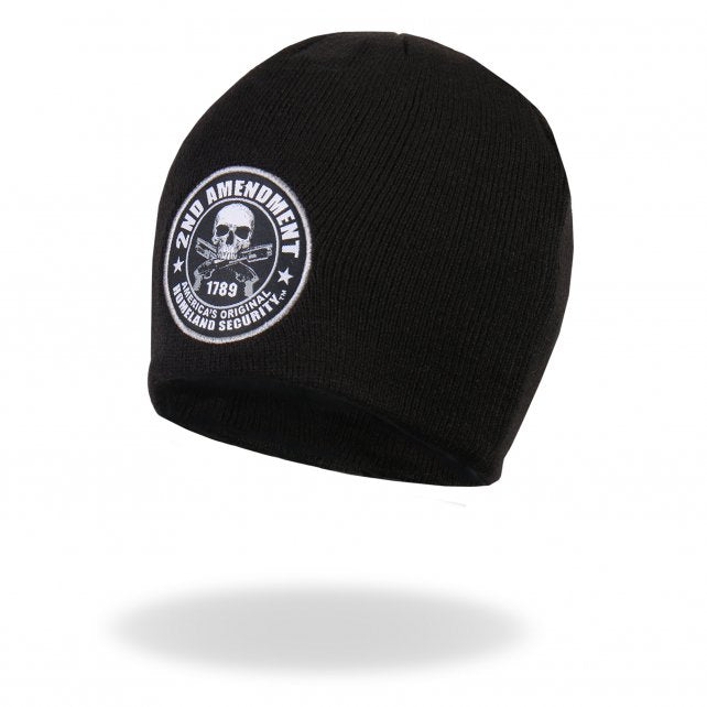 2nd Amendment - America's Original Homeland Security - Knit Beanie