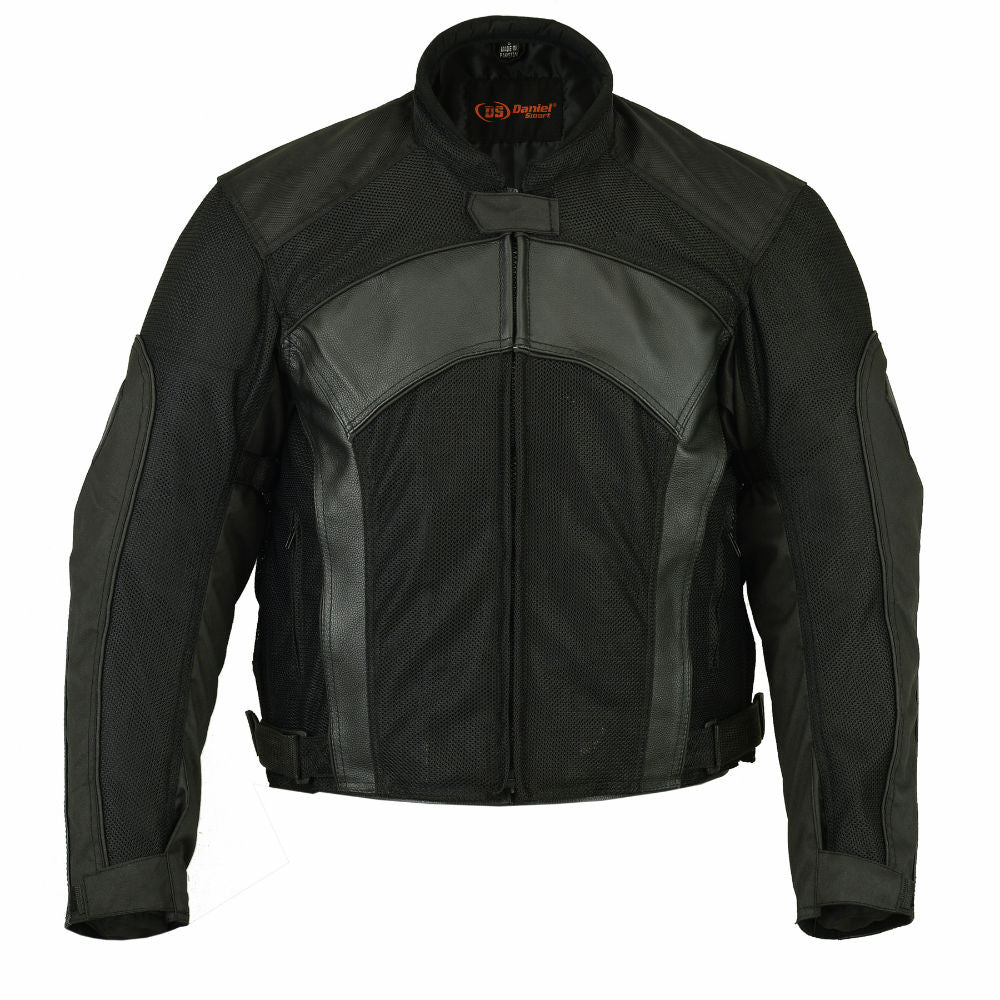 Men's DS750 Mesh-Leather Padded Jacket
