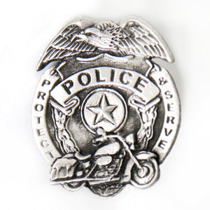 Police Badge Pin