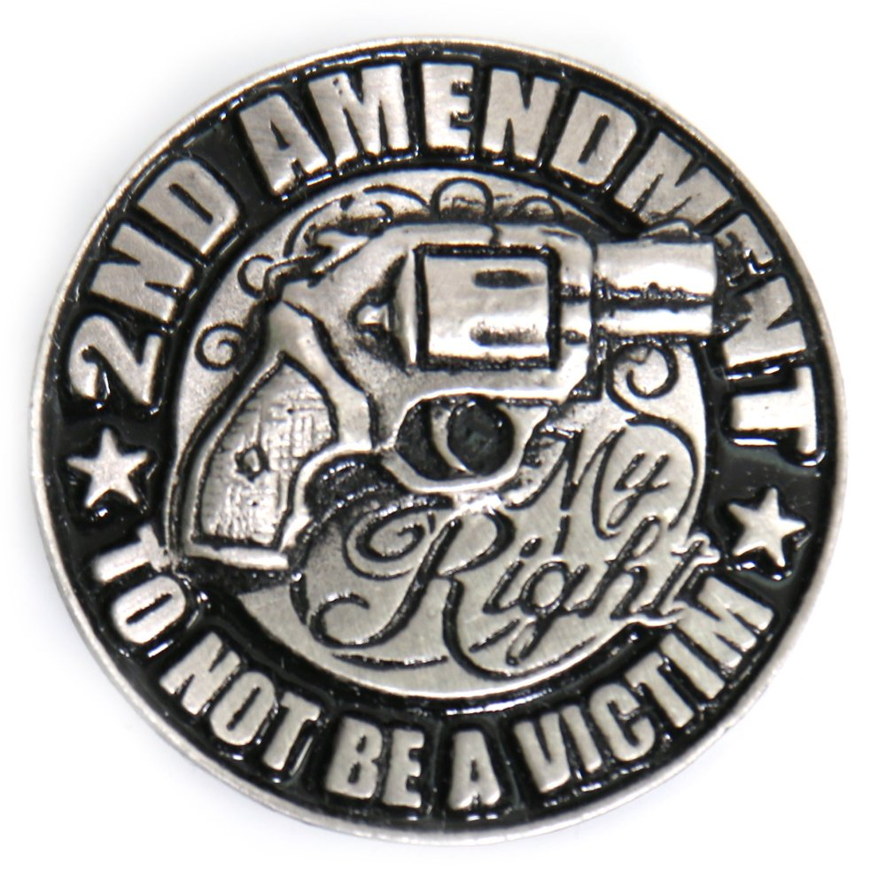 2nd Amendment - My Right Pin