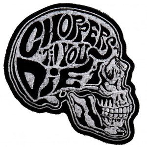 "4"" - Choppers 'Til You Die Patch"